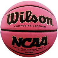 Wilson NCAA Replica Pink Basketball (28.5