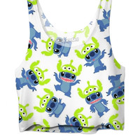 Disney Aliens Crop Top