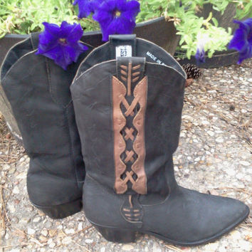 Leather Boots Women's Size 8.5 Code West