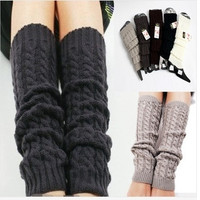 Womens Fashion Winter Knit Crochet Knitted Leg Warmers Legging Boot Cover  5 colors = 1932948932