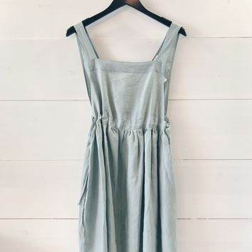 Cora Apron Wrap Dress