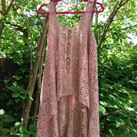 Free People – Wild Is The Wind Tunic In Antique Pink|Thirteen Vintage