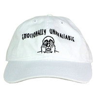 EMOTIONALLY UNAVAILABLE CAP