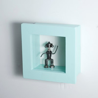 Deep Shadow Box - 6x6 Shadow Box Frame - Custom Color - Mini Shadow Box, Display Frame, Figurine Display, Miniature Display
