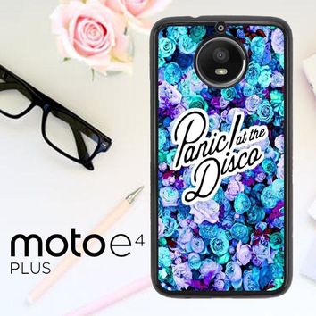 Panic At The Disco Flower X4351 Motorola Moto E4 Plus Case