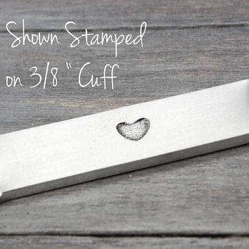 Heart Metal Stamp, Wide Heart Metal Stamp, Metal Design Stamp, Hand Stamping Tool, Stamping Supplies,Hand Stamp,DIY Supplies