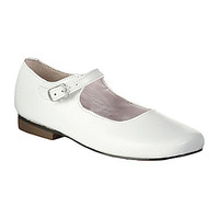 Nina Girls' Bonnett Mary Jane Dress Shoes - White