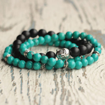 stack bracelet Buddha zen bracelets meditation jewelry healing bracelet beaded set stackable women bracelet for men Buddhism energy stone