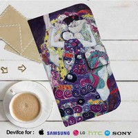 Gustav Klimt The Virgin Leather Wallet iPhone 4/4S 5S/C 6/6S Plus 7| Samsung Galaxy S4 S5 S6 S7 NOTE 3 4 5| LG G2 G3 G4| MOTOROLA MOTO X X2 NEXUS 6| SONY Z3 Z4 MINI| HTC ONE X M7 M8 M9 CASE