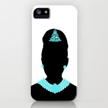 For Audrey iPhone Case by Miss Golightly | Society6