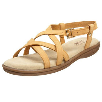 Bass Womens Margie Leather Casual Strappy Sandals