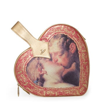 Archive Heart Bag 7393 Gold