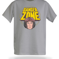 Danger Zone T-Shirt - Grey,