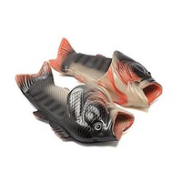 HEEMAA 4 Colours Fish Slippers Beach Shoes NonSlip Sandals Creative Fish Slippers Men and Women Casual Shoe