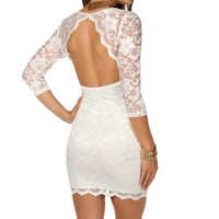 Sale Open Back Dress
