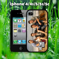 big time rush beach design hard case for iphone 4/4s, iphone 5, iphone 5s, iphone 5c
