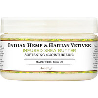 100% Organic Shea Butter Infused With Indian Hemp & Haitian Vetiver