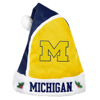 Michigan Wolverines Basic Santa Hat - 2015