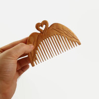 Womens gift Hair comb Wooden Wife gift Valentines gift hair stick Wooden hair fork Gift for her Hair slides Wooden hair accessories