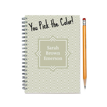 Personalized daily calendar, Weekly planner, custom planner, 12 months you pick, custom gift, colorful personal planner book, SKU: pl dia