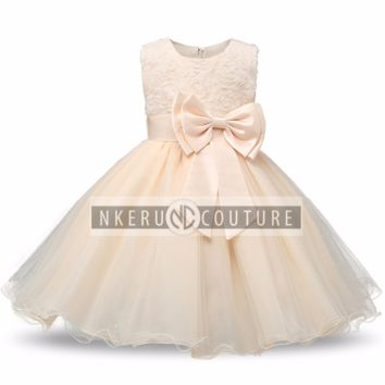 Brand Toddler Girl Baptism Clothes #886