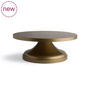 Heart of Gold Cake Stand