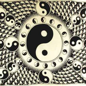 Tapestry Yin and Yang