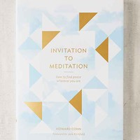 Invitation To Meditation: How To Find Peace Wherever You Are By Howard Cohn
