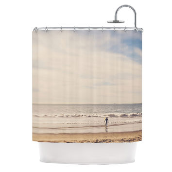 "Myan Soffia ""Ritual"" Beach Sand Shower Curtain"