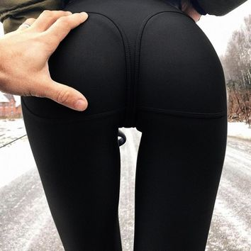 High Waist Fitness Booty Push Up Tights