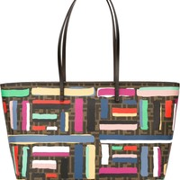 Fendi Colour Block 'roll' Tote - Stefania Mode - Farfetch.com