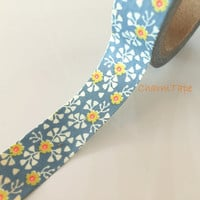 Washi tape - Mini Floral - 15mm Wide - 10meters  WT708