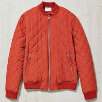 Your Neighbors Devon Quilted Bomber Jacket