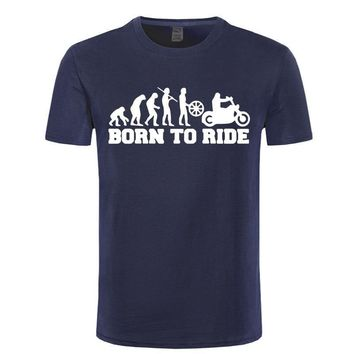Born To Ride - Motorcycle Evolution T-shirt