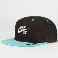 Nike Sb Party Boys Snapback Hat Mint One Size For Women 24039352301