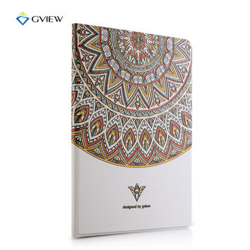 Gview Designer Smart Case For Ipad 4 3 2 Embossing Luxury Flo