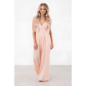 Looking Good NanaMacs Jumpsuit (Blush)