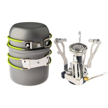 Portable Cooking Stove Set