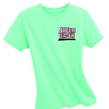 Product: Cheerleader Stuntin' Is A Habit Mint Tee