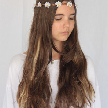 Wild Daisy Flower Crown