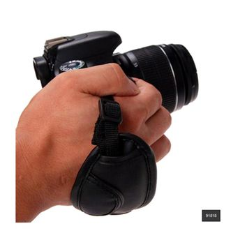 Newest Hand Grip Strap PU Leather Hand Strap For Dslr Camera For Sony Olympus Nikon Canon EOS D800 D7000 D5100 D3200