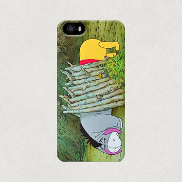 Winnie the Pooh and Eeyore iPhone 4 4s 5 5s 5c Case
