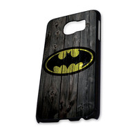 Batman Wood Logo Samsung Galaxy S6 Case