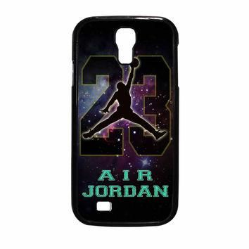 Nike Air Jordan Galaxy Nebula Star Samsung Galaxy S4 Case