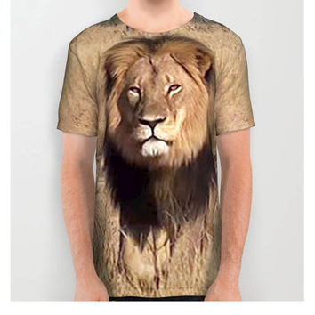 Unisex Cecil the Lion T-shirt Save the Lions T-Shirt Commemorative Cecil the Lion T-Shirt RIP Cecil T-Shirt Nature Conservancy T-Shirt Lion