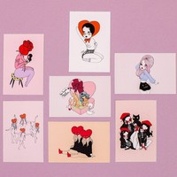 Amour Postcard Packet