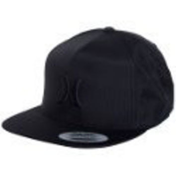 Hurley MHA0003380 Mens Lowers Hat,Black,OS