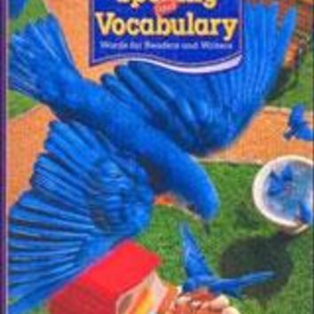 Houghton Mifflin Spelling and Vocabulary Consumable Student Book Ball and StickGrade 3