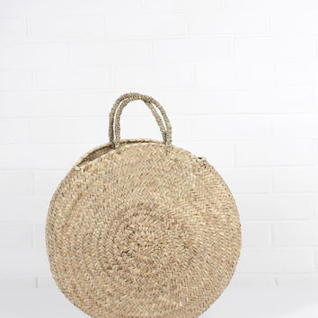 Handwoven Florence Shopper Basket