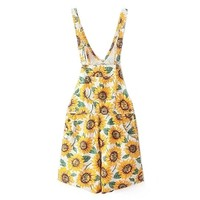 Sunflower Denim Overall Short